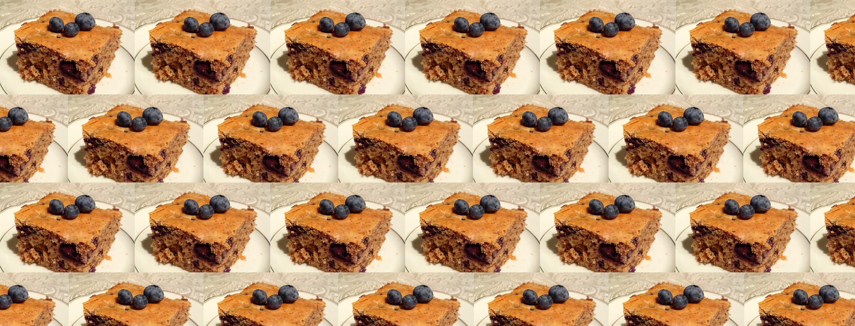 Zuckerfreier Veganer Kuchen Mit Heidelbeeren All We Love