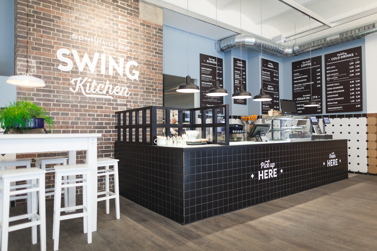 Die Swing Kitchen in Wien.