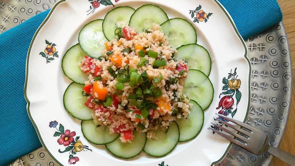 Ruckizucki gemacht: Couscous-Salat.